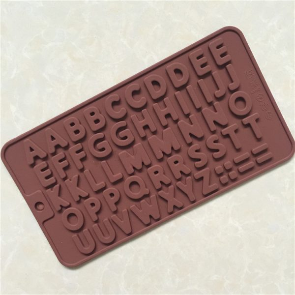 26 Letter Silicone mold (5)