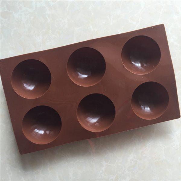 6 Holes Silicone Cake Mold (2)