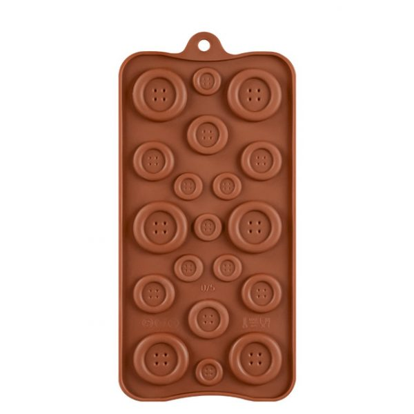 Button Shapes Chocolate mold (2)