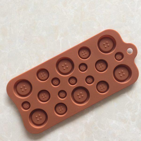 Button Shapes Chocolate mold (4)
