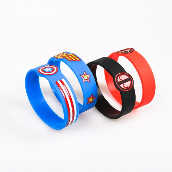Captain America Silicone Bracelets (1)