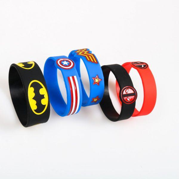Captain America Silicone Bracelets (4)