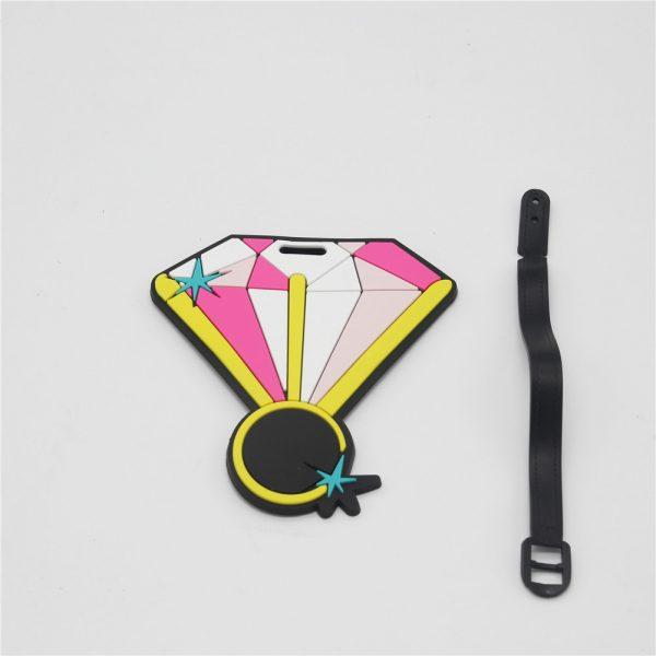 Diamond luggage tag (1)