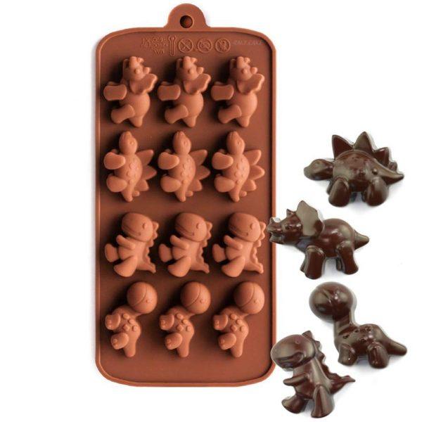 Dinosaur chocolate mold