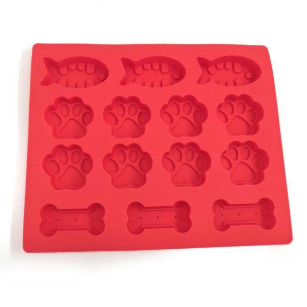 Dog Paw silicone mold (2)