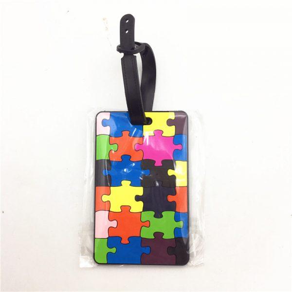 Geometric luggage tag (5)
