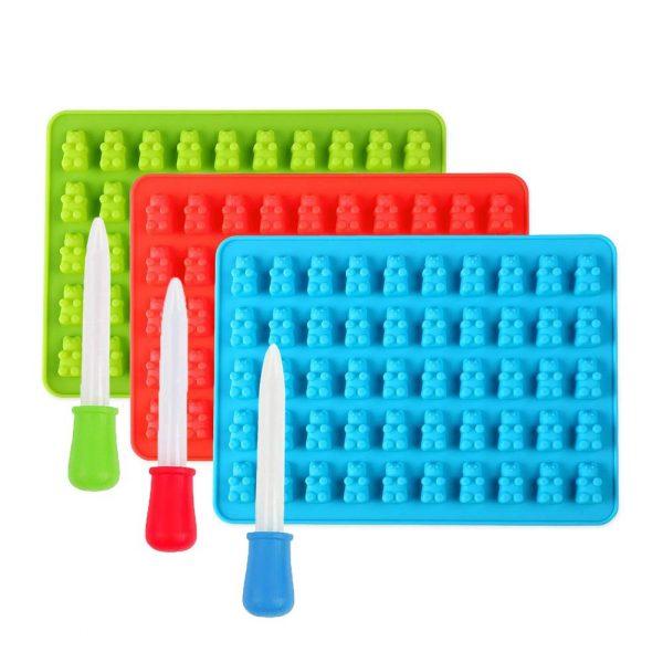 Gummy Bear Molds (5)