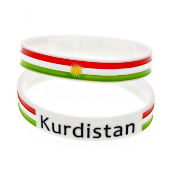 Kurdistan Flag wristband (3)