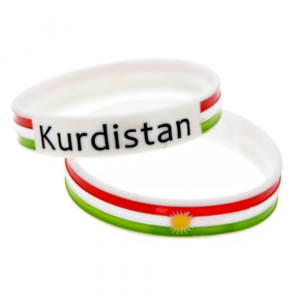 Kurdistan Flag wristband (4)