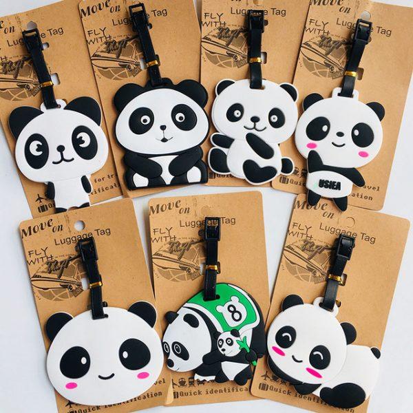 Panda luggage tag (6)