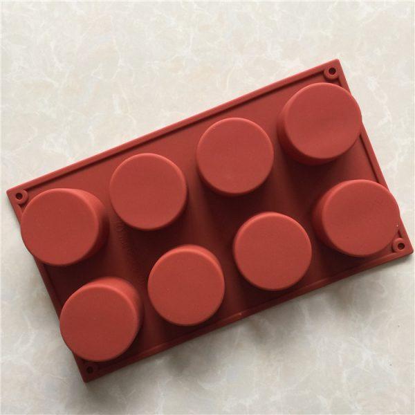 Round Cylinder Silicone Mold (3)
