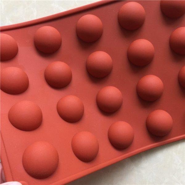 Semi Sphere Silicone Mold (2)