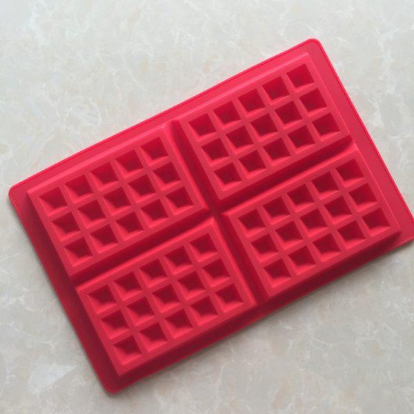 Square Waffle Silicone Mold (2)