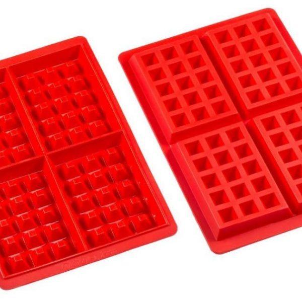 Square Waffle Silicone Mold (5)
