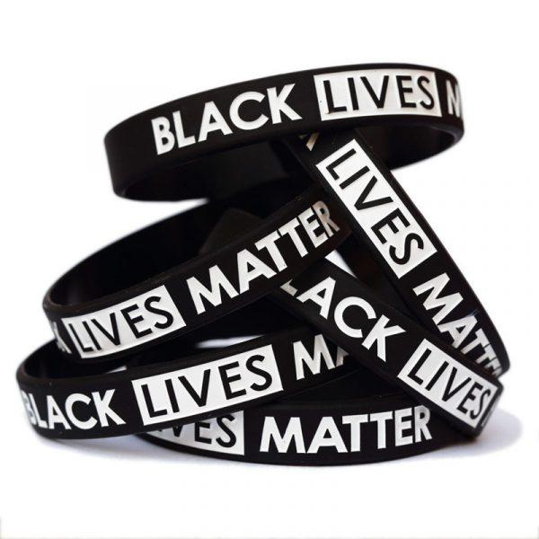 Black Lives Matter Silicone Wristband (1)