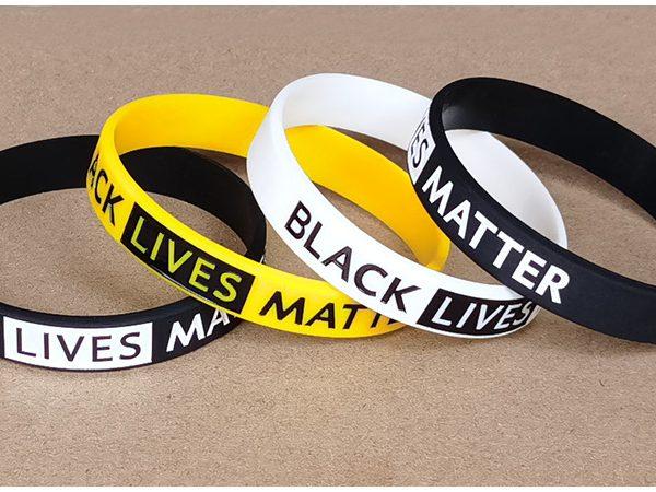 Black Lives Matter Silicone Wristband (5)