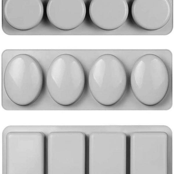 Oval Silicone Soap Mold (1)