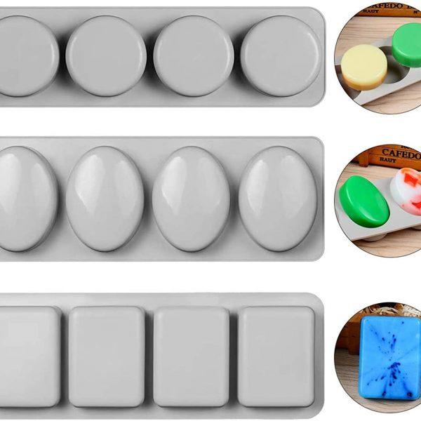 Oval Silicone Soap Mold (7)