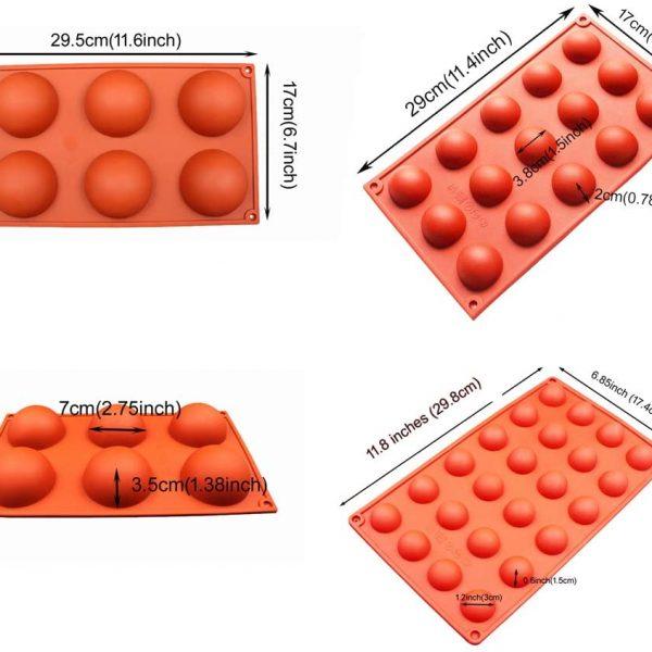 Semi Sphere Silicone mould (2)
